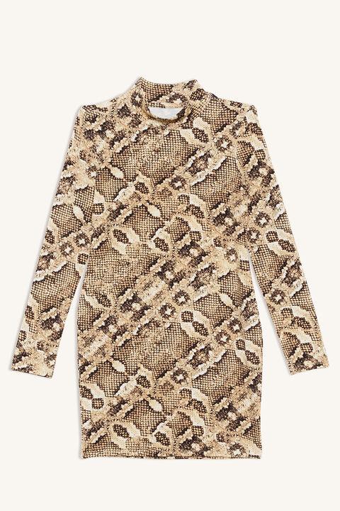 LIZA SKIVVY DRESS in colour EGRET