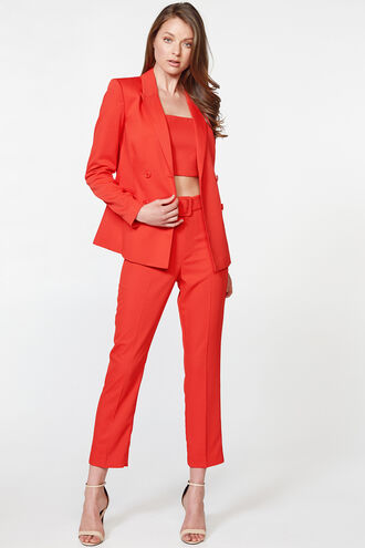 PARISIENNE BLAZER in colour FIESTA