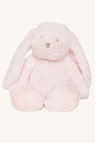 SUPER SOFT LONG EAR BUNNY in colour IMPATIENS PINK