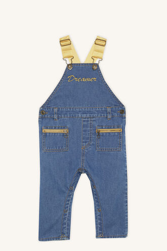 DREAMER DUNGAREE in colour ASHLEY BLUE