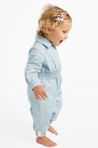 EDITH BOILERSUIT in colour CASHMERE BLUE