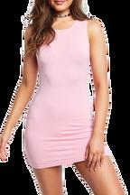 KIM MINI DRESS in colour PINK LADY