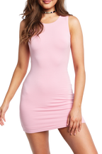 KIM MINI DRESS in colour PINK LADY