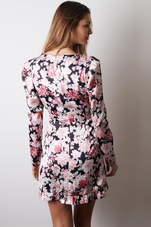 SAMARA MINI DRESS in colour SLATE ROSE
