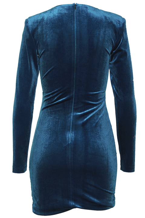 ISLA MINI DRESS in colour BAYBERRY