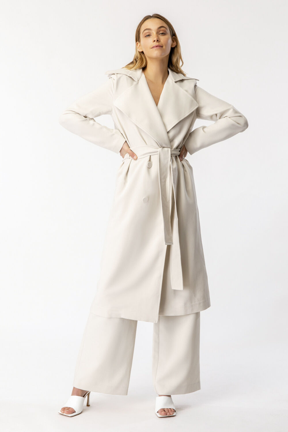 THE CLASSIC TRENCH in colour PINK TINT