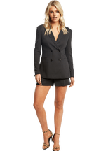 VENICE BLAZER in colour CAVIAR