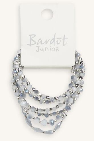 JEWEL STRETCH BRACELET SET in colour BLUE BELL