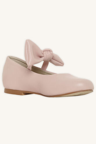 BOW BALLET FLAT in colour IMPATIENS PINK