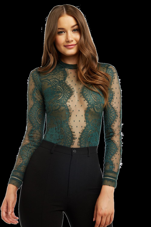 4890acf86d Opia Lace Bodysuit | Ladies Clothing & Tops | Bardot