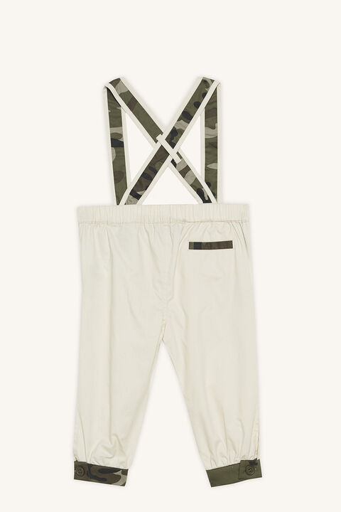 CAMO CHINO OVERALL in colour BLEACHED SAND