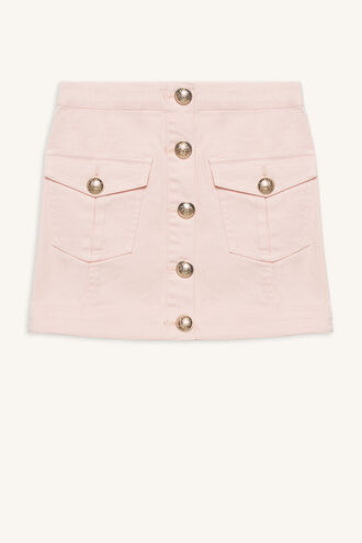 BETH UTILITY SKIRT in colour CLOUD PINK