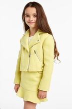 RAINCHECK BIKER JACKET in colour LIMELIGHT