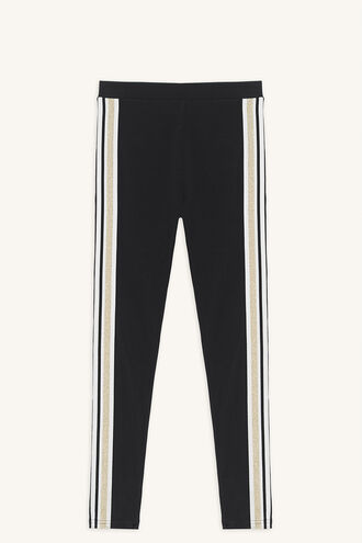 PARIS SPORTS LEGGING in colour JET BLACK