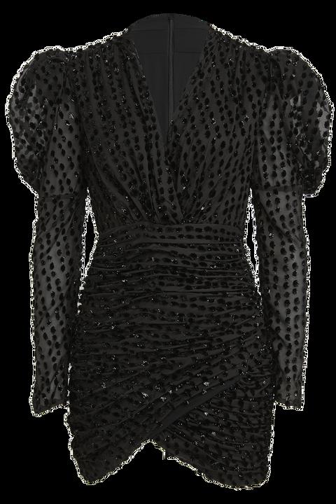 BREE MINI DRESS in colour CAVIAR