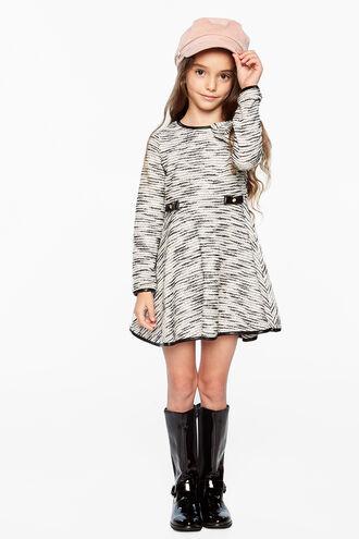 TIFFANY KNIT DRESS in colour JET BLACK
