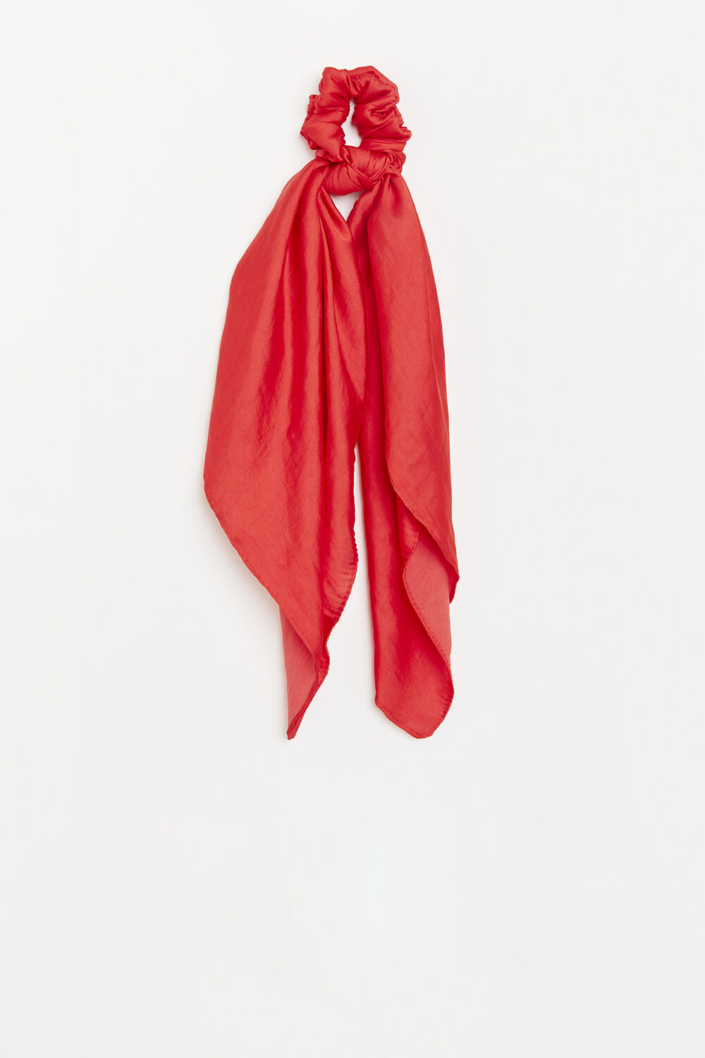 SCRUNCHIE SCARF in colour FIESTA