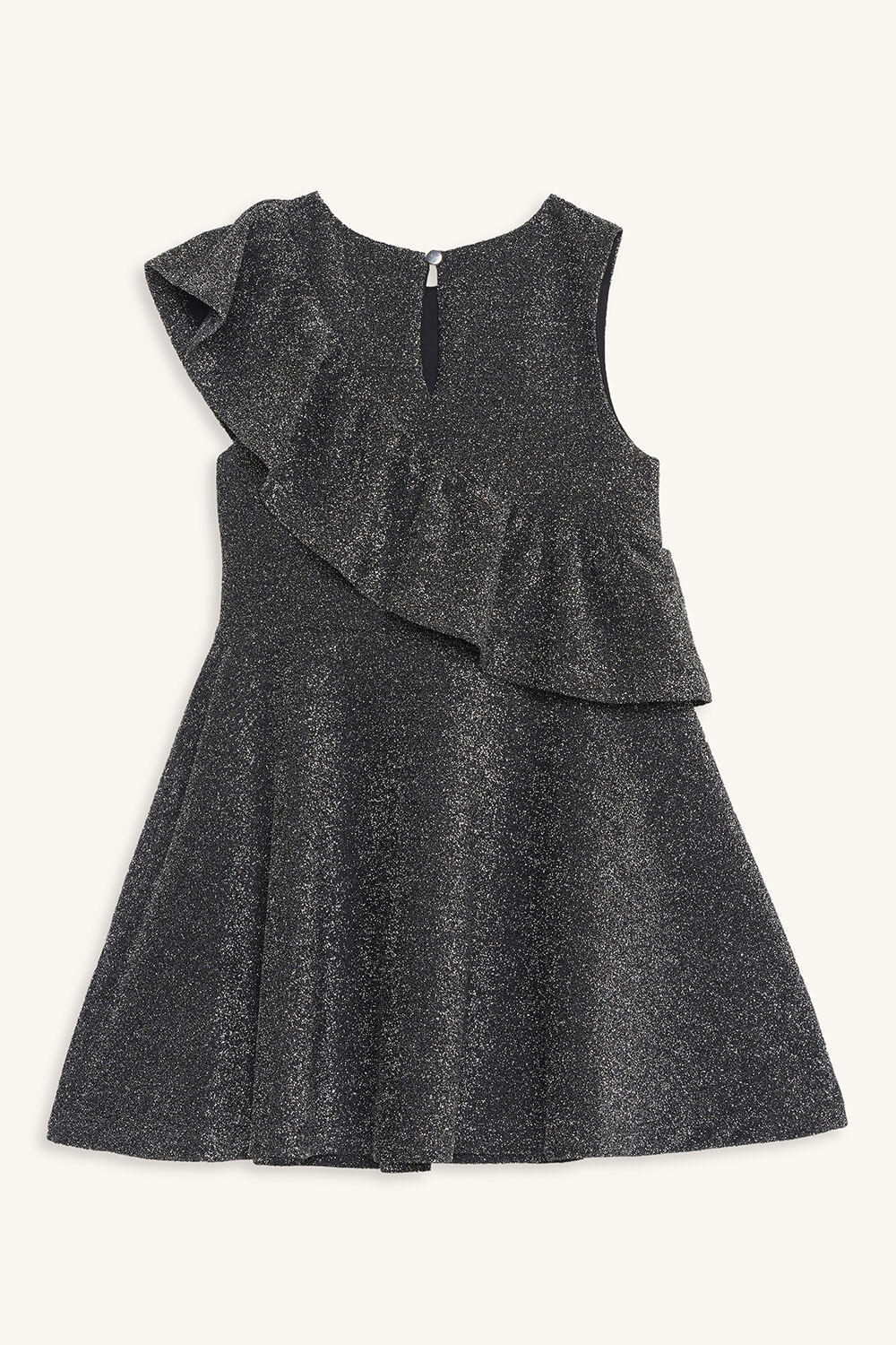 MYA SHIMMER DRESS in colour SILVER