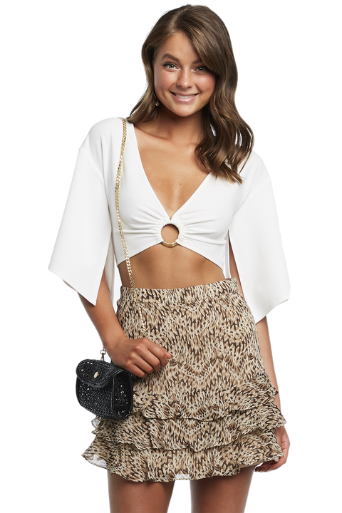 JEMIMA RING TOP in colour CLOUD DANCER