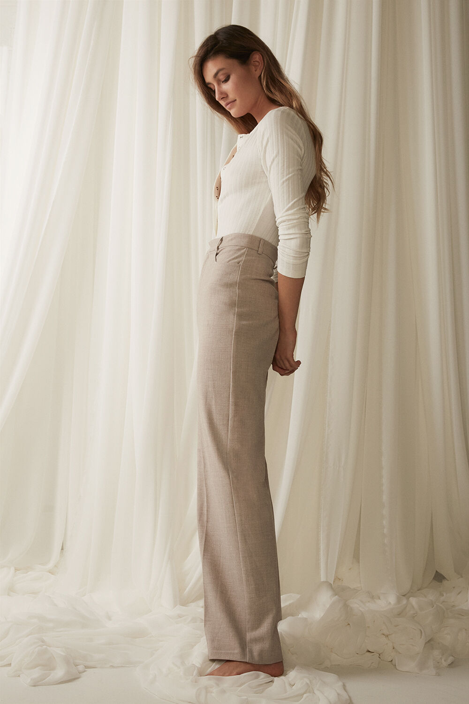 MERISSA BODYSUIT in colour BRIGHT WHITE