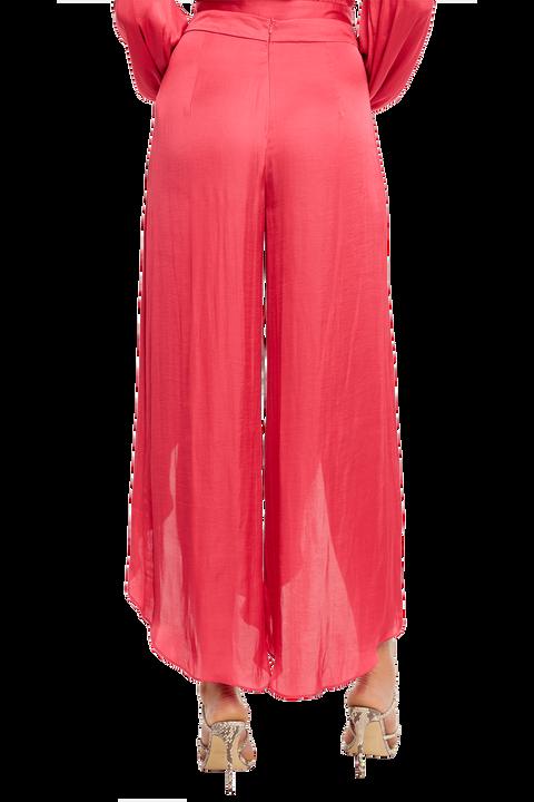 KAYLAH PETAL PANT in colour BEETROOT PURPLE