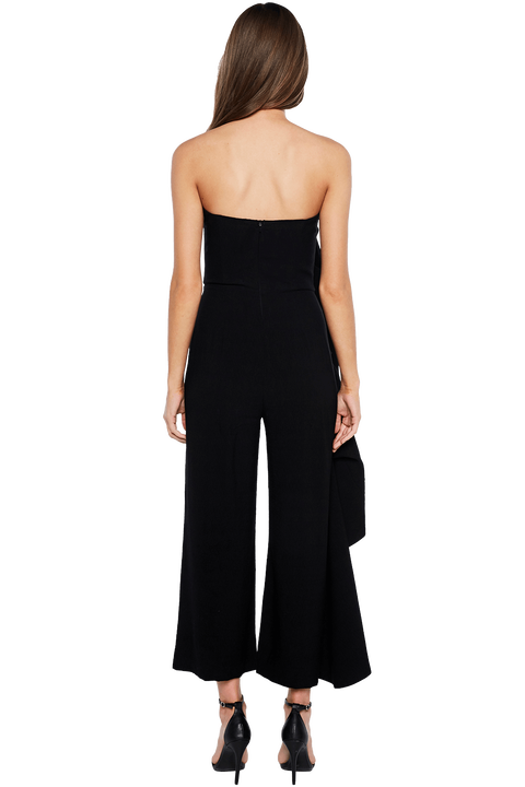 CARISSA JUMPSUIT in colour CAVIAR