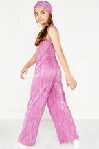 tween girl shimmer jumpsuit in colour PURPLE ORCHID