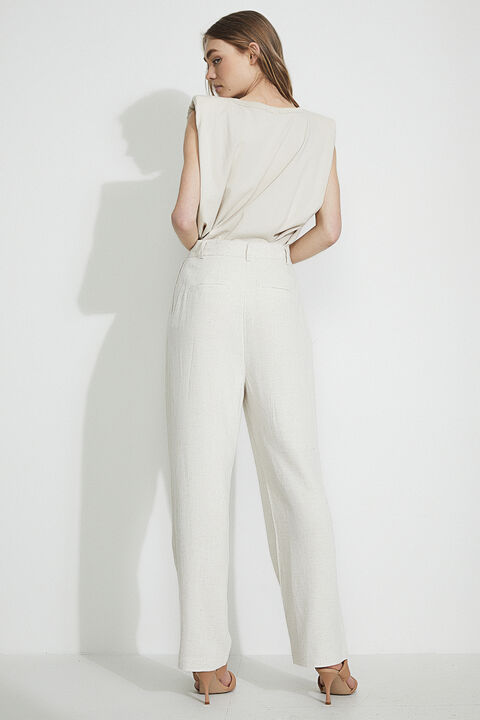 KOKO TROUSER in colour MOONLIGHT