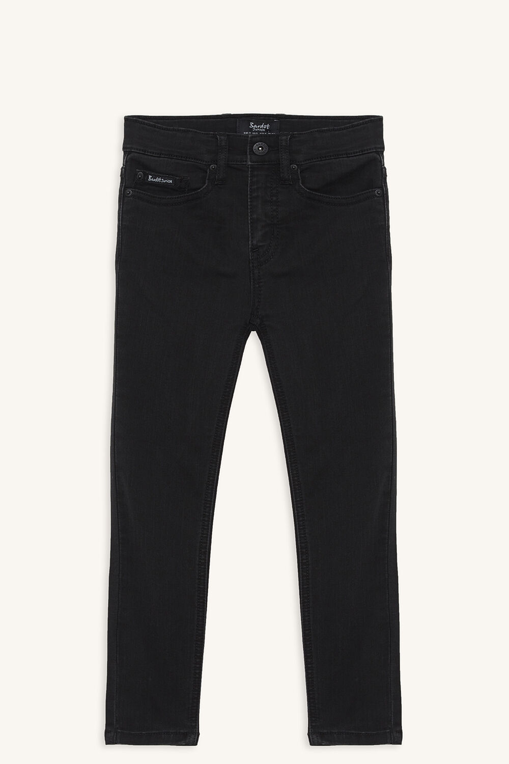 AXL TRASH SKINNY JEAN in colour JET BLACK