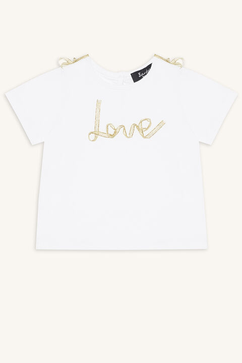 LOVE TEE in colour BRIGHT WHITE