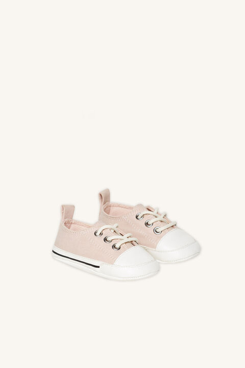 MINI BABY SNEAKER in colour PINK CARNATION