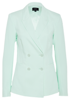 PARISIENNE BLAZER in colour DUSTY AQUA