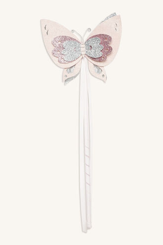 BUTTERFLY WAND in colour PINK CARNATION