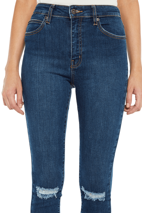 KHLOE TRUE BLUE JEAN in colour SODALITE BLUE