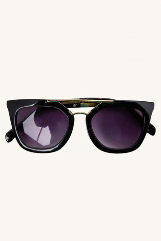 EMMA AVIATOR SUNGLASSES in colour CLOUD DANCER
