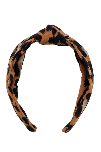 KNOT HEADBAND in colour ANTELOPE
