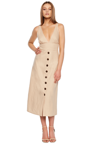 SHELBY DRESS in colour MOONLIGHT