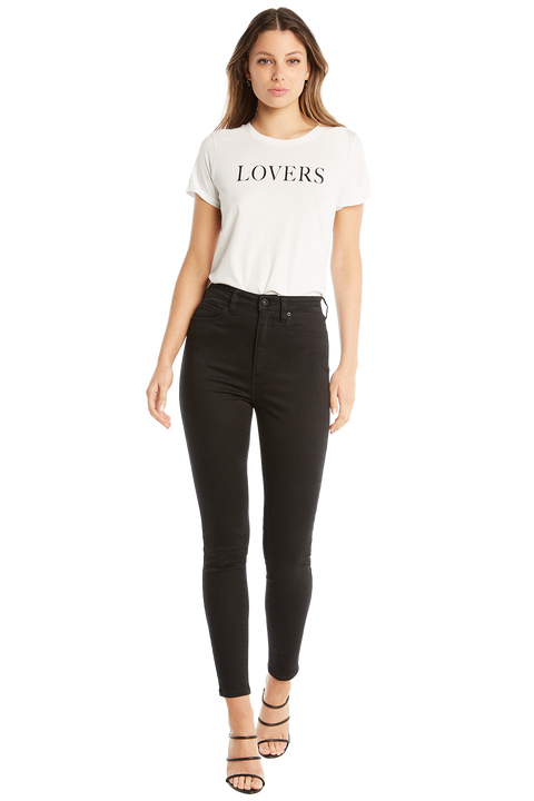 LOVERS TEE in colour BRIGHT WHITE