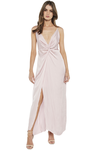 ORA TWISTED MAXI DRESS in colour LOTUS