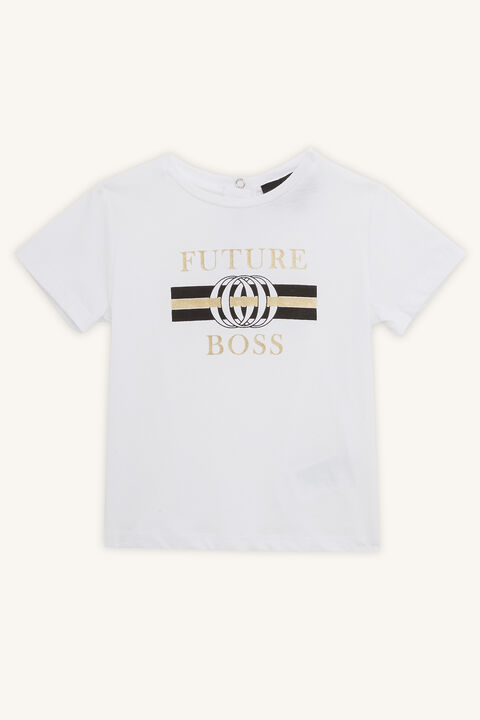 FUTURE BOSS TEE in colour BRIGHT WHITE