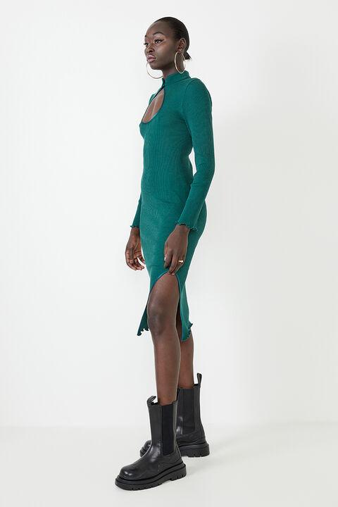 GISEL DRESS in colour EDEN