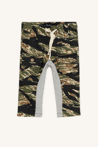 CAMO PULL ON PANT in colour JET BLACK