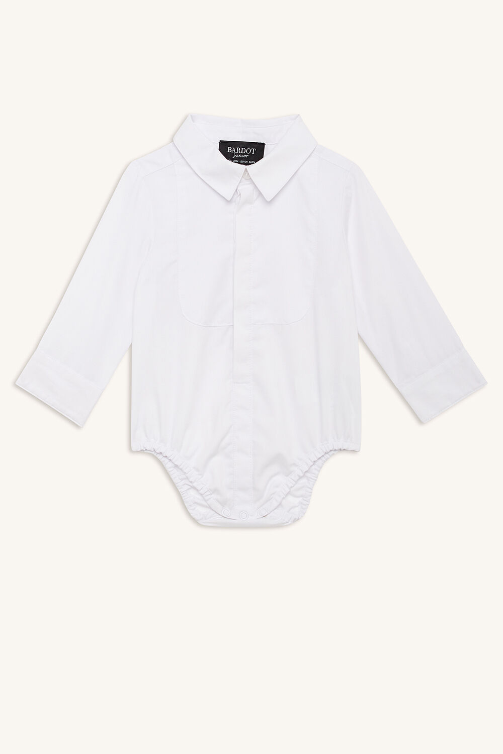 BIB SHIRT GROW in colour BRIGHT WHITE