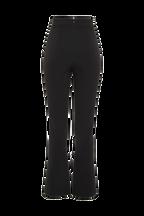 KICKFLARE SPLIT PANT in colour CAVIAR