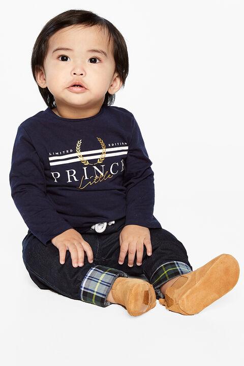 PRINCE TOP in colour BLACK IRIS