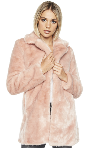 FUR COAT in colour SHELL