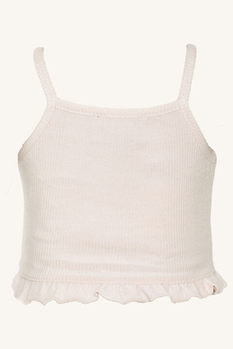 baby girl GRACIE KNIT TOP in colour SHRINKING VIOLET