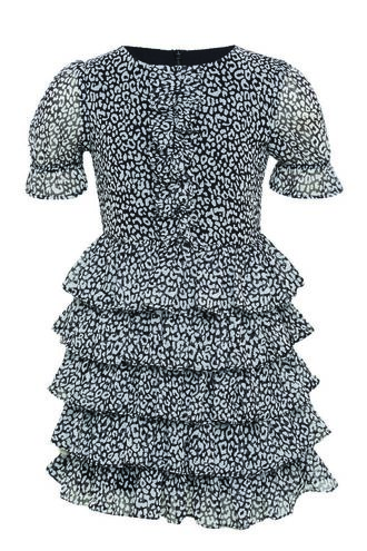 TIA RA RA DRESS in colour BRIGHT WHITE