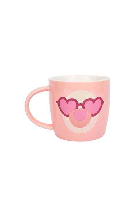 FLUFFY MUGSET - LLAMA in colour PARADISE PINK
