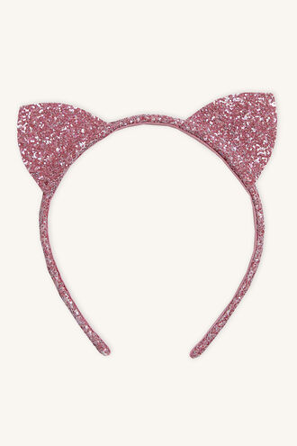 GLITZ KITTY EARS in colour PINK CARNATION